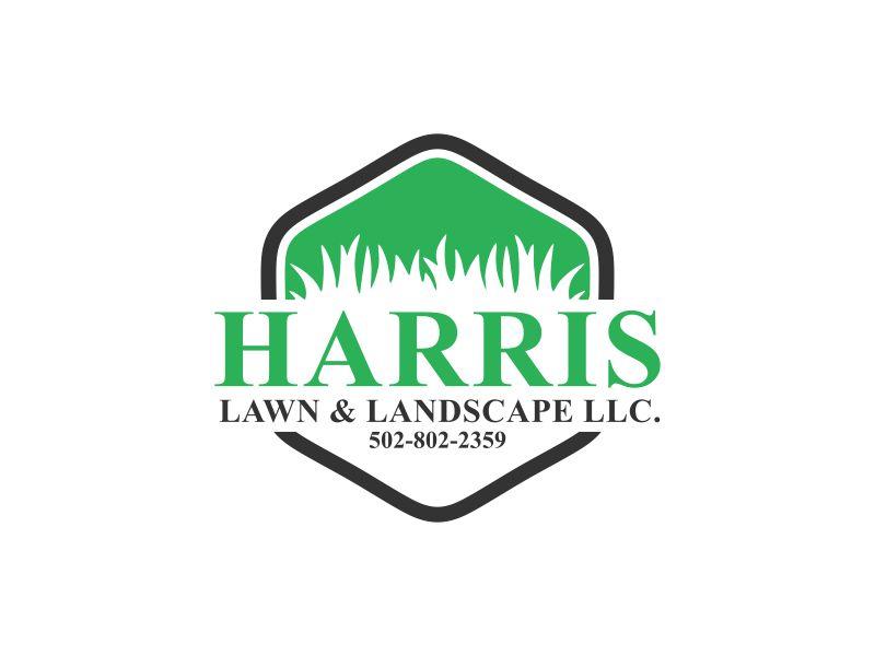 HARRIS  LAWN & LANDSCAPE LLC. logo design by veter