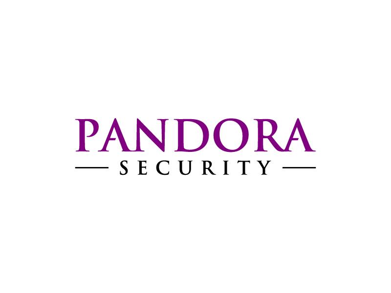 Pandora Security logo design by wongndeso