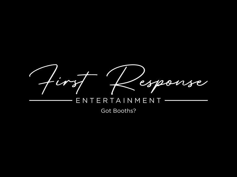 "First Response Entertainment ""Got Booths?"" logo design by ora_creative"