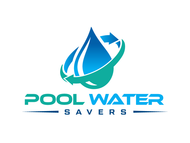 Pool Water Savers logo design by Erasedink