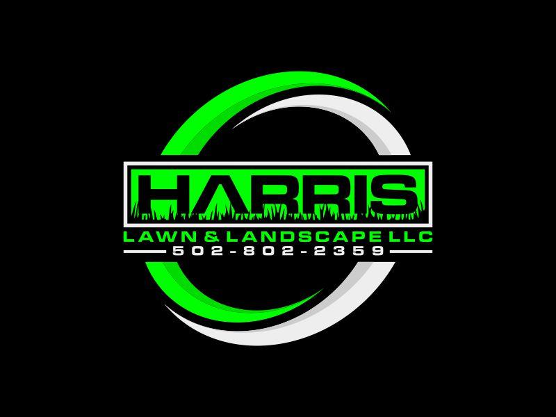 HARRIS  LAWN & LANDSCAPE LLC. logo design by josephira
