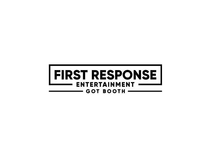 """First Response Entertainment """"Got Booths?"""" logo design by bigboss"""