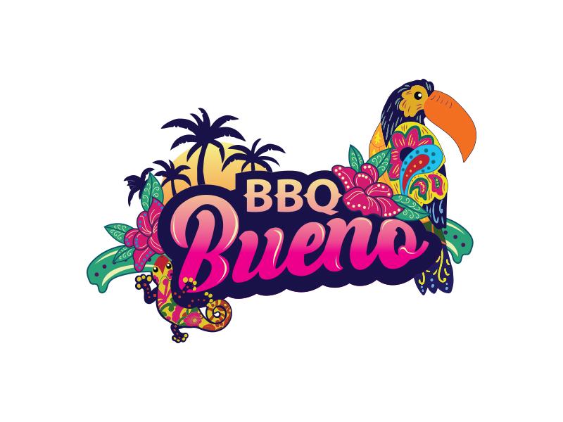BBQ Bueno logo design by Thyrael Bay