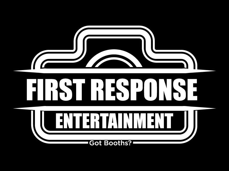 "First Response Entertainment ""Got Booths?"" logo design by Htz_Creative"