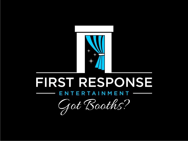 "First Response Entertainment ""Got Booths?"" logo design by GemahRipah"