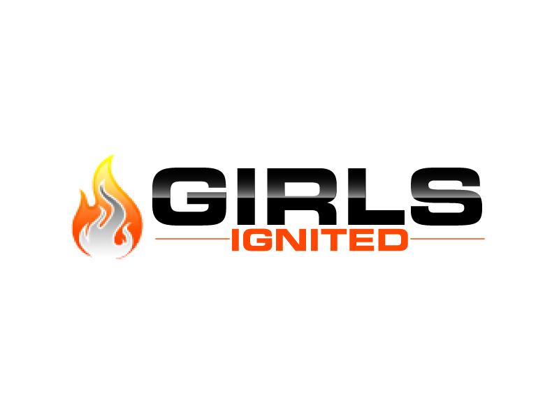 Girls Ignited logo design by ElonStark