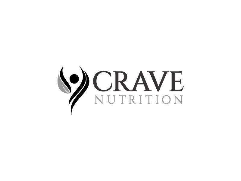 Crave Nutrition logo design by up2date