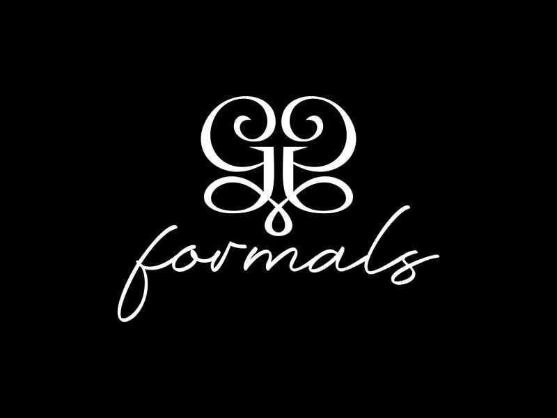 GG Formals logo design by hashirama