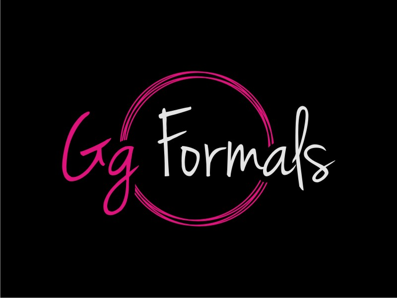 GG Formals logo design by Arto moro