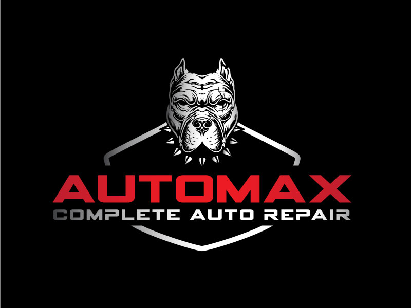 AutoMax logo design by emberdezign