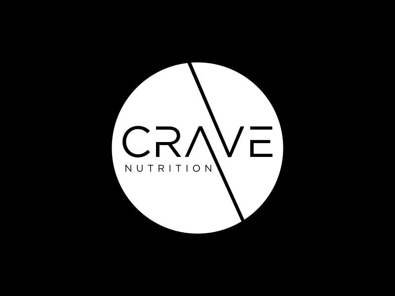 Crave Nutrition logo design by haidar