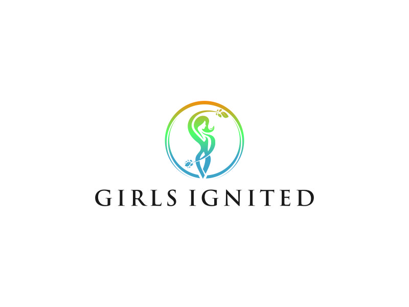 Girls Ignited logo design by Naan8