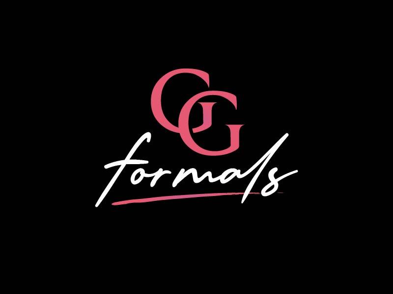 GG Formals logo design by usef44
