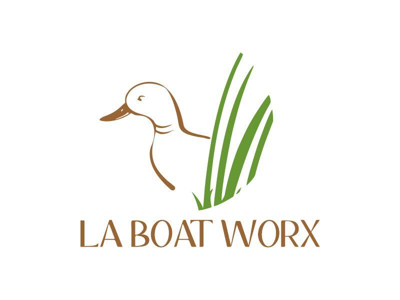 LA BOAT WORX logo design by Gwerth