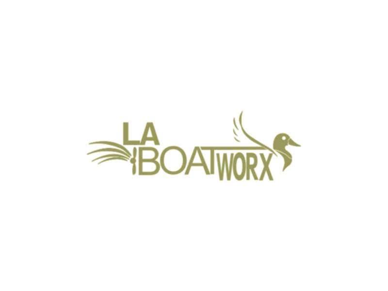 LA BOAT WORX logo design by azizah