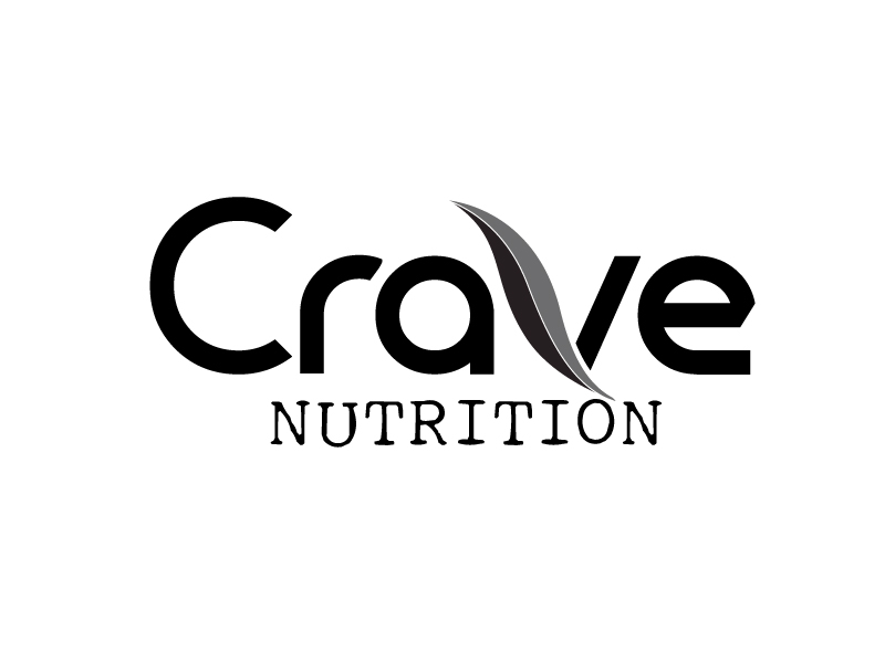 Crave Nutrition logo design by webmall