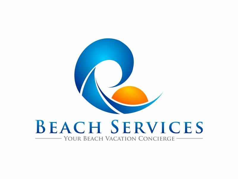 Beach Services Logo Design