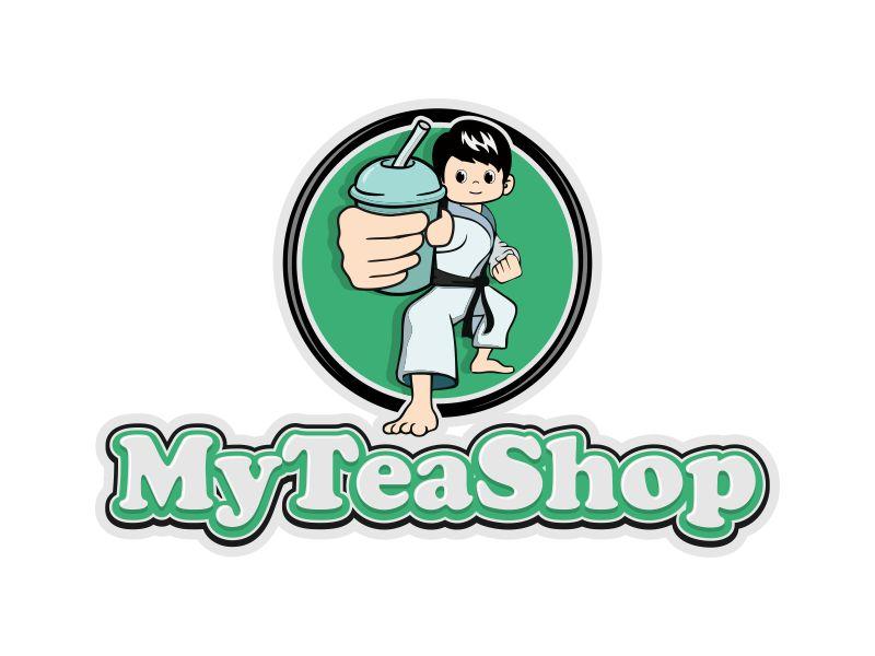 MyTeaShop logo design by veter