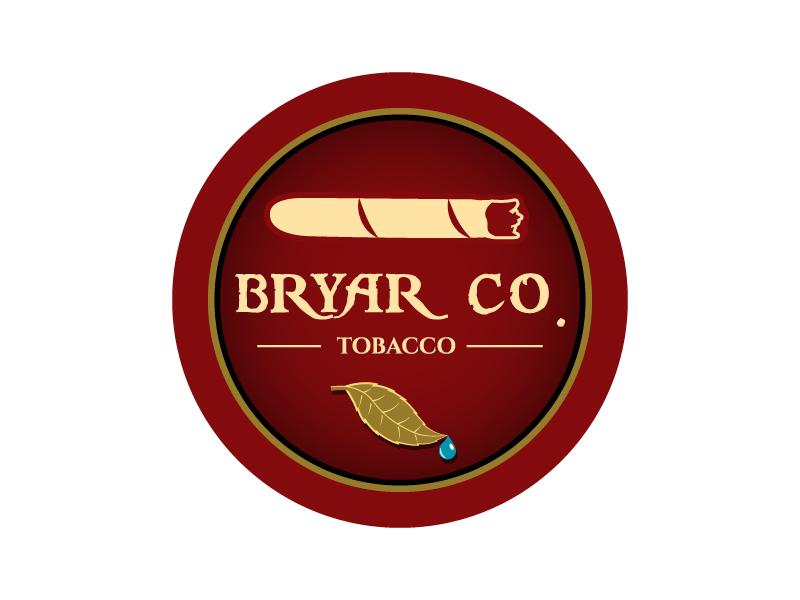 Bryar Co. Tobacco logo design by karjen