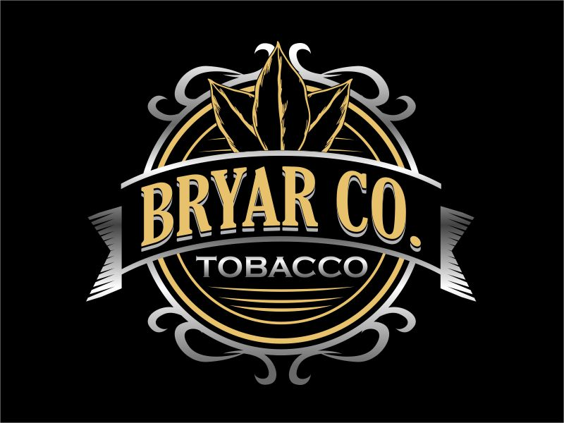 Bryar Co. Tobacco logo design by serprimero