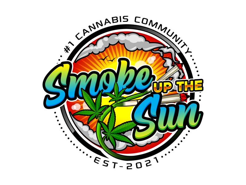 Smoke up the Sun logo design by DreamLogoDesign