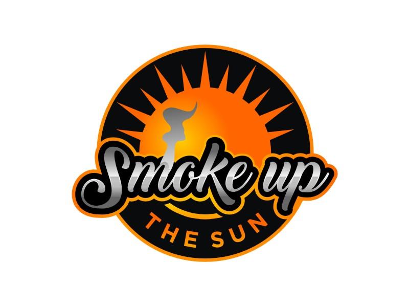 Smoke up the Sun logo design by Arto moro