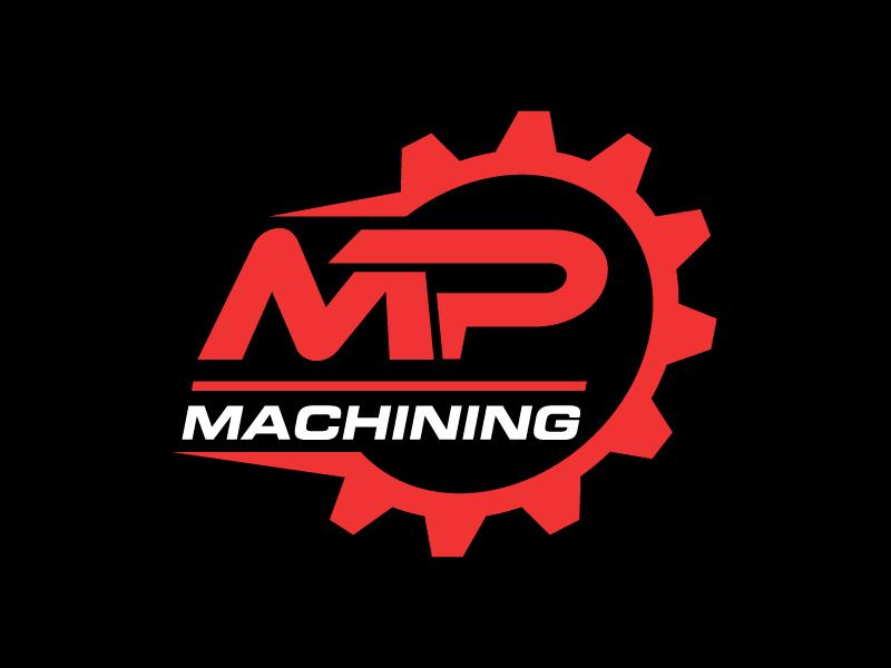 MP Machining Logo Design