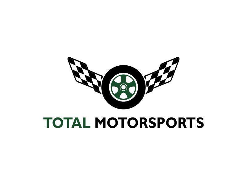 Total Motorsport logo design by Gopil