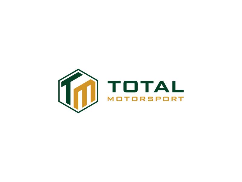 Total Motorsport logo design by pencilhand
