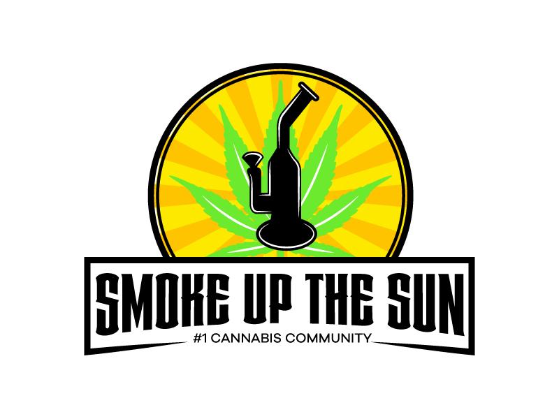 Smoke up the Sun logo design by karjen