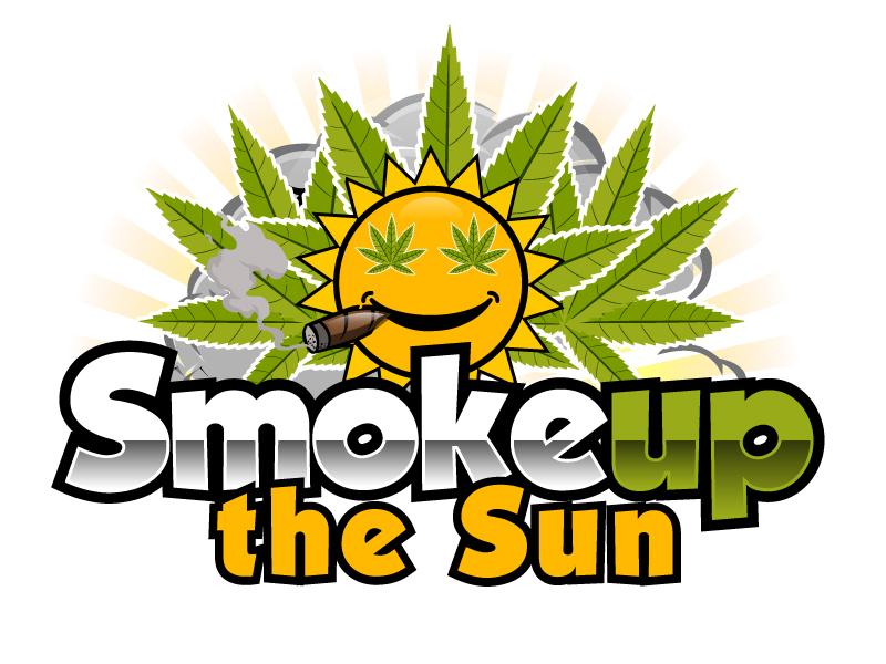 Smoke up the Sun logo design by ElonStark