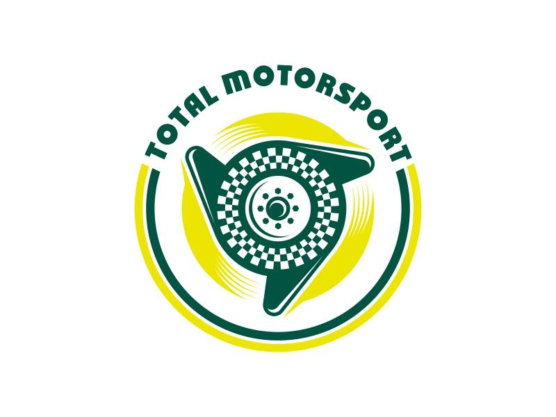 Total Motorsport logo design by ekitessar