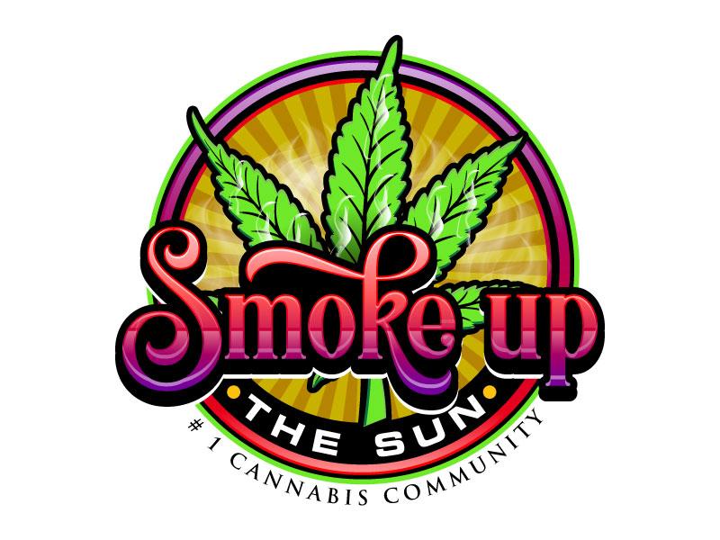 Smoke up the Sun Logo Design