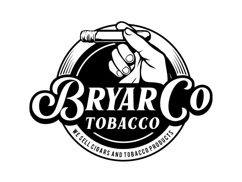 Bryar Co. Tobacco logo design by Pompi Saha
