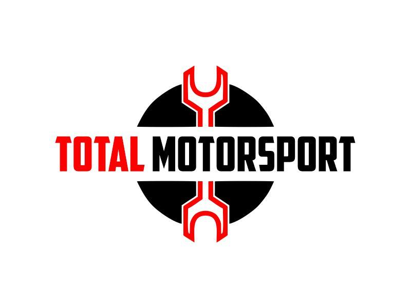 Total Motorsport logo design by Gwerth