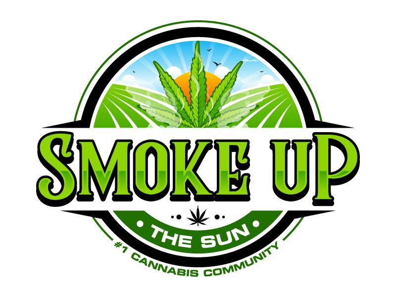 Smoke up the Sun logo design by Suvendu