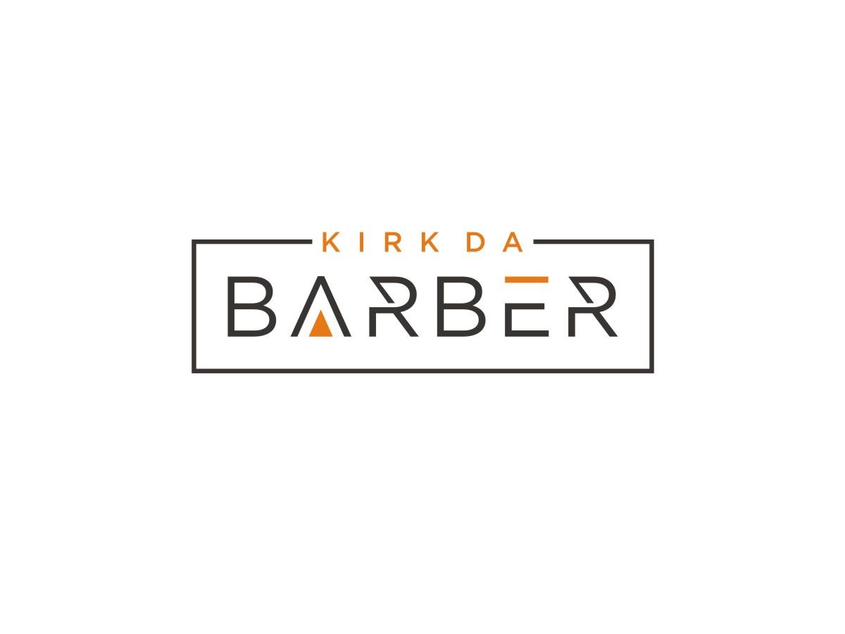 Kirkz Kuttz or Kirk Da Barber logo design by Arto moro