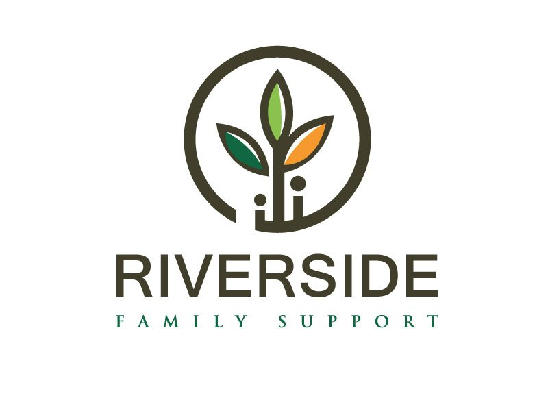 Riverside Family Support logo design by REDCROW