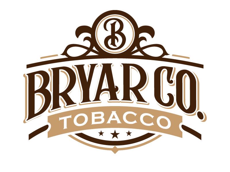 Bryar Co. Tobacco logo design by jaize