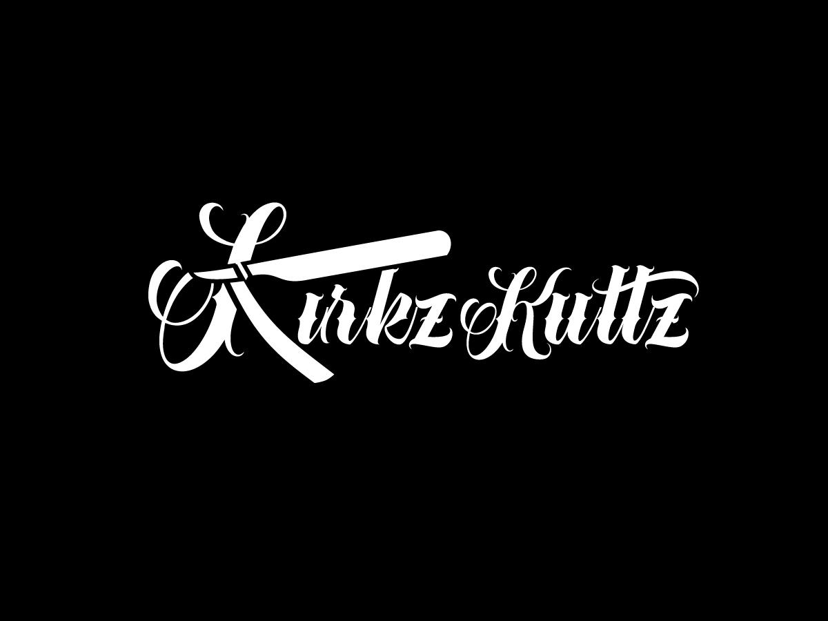 Kirkz Kuttz or Kirk Da Barber logo design by yondi