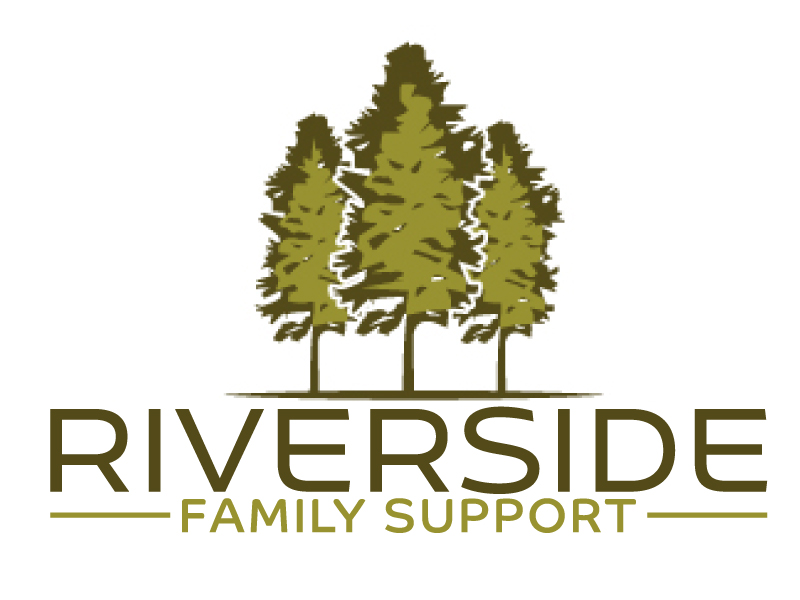 Riverside Family Support logo design by ElonStark