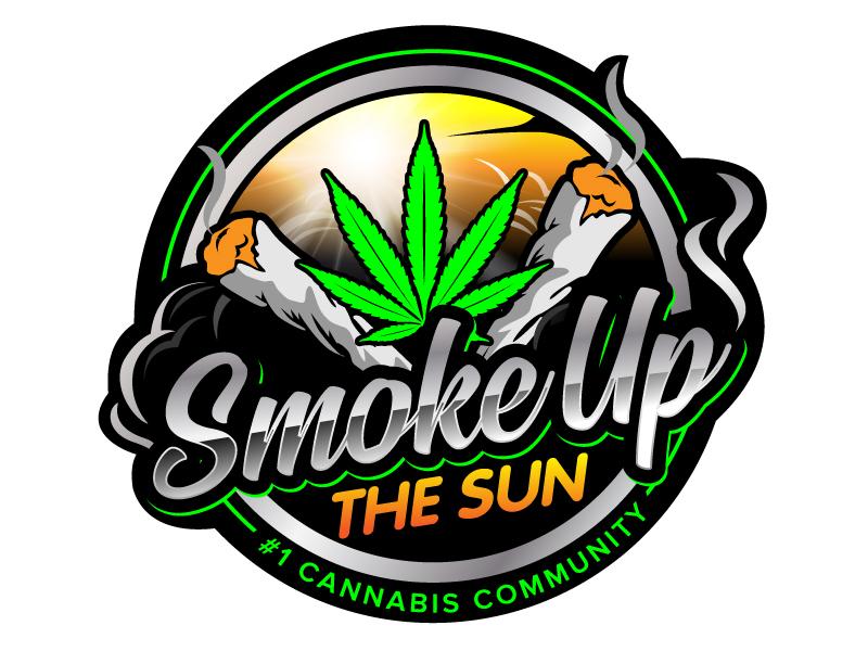Smoke up the Sun logo design by jaize