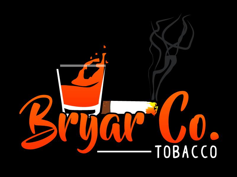Bryar Co. Tobacco logo design by ElonStark