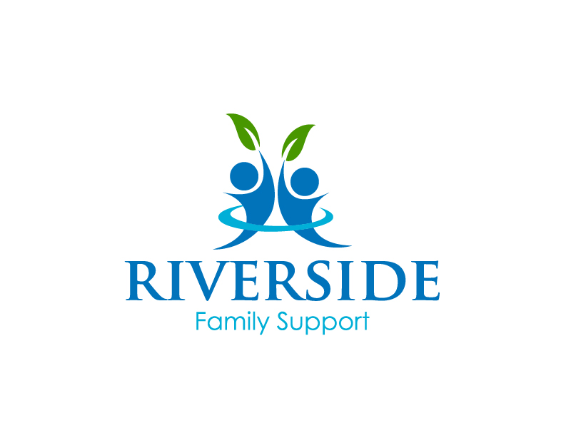 Riverside Family Support logo design by Marianne