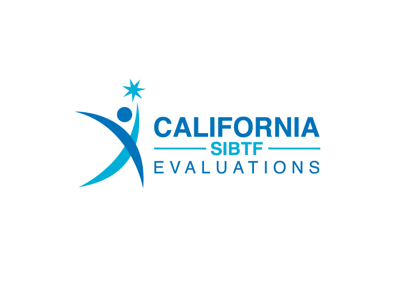 California SIBTF Evaluations logo design by Marianne