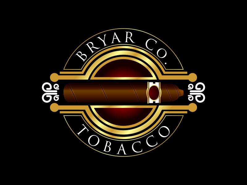 Bryar Co. Tobacco logo design by Dhieko