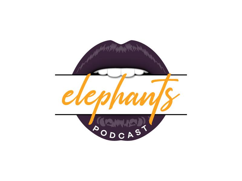 Elephants Podcast logo design by Kirito