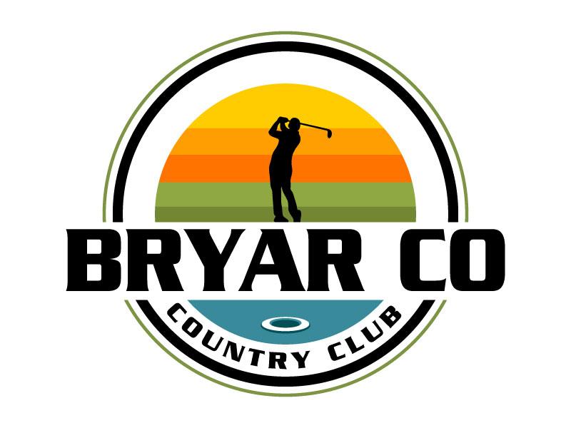 Bryar Co Country Club logo design by Suvendu