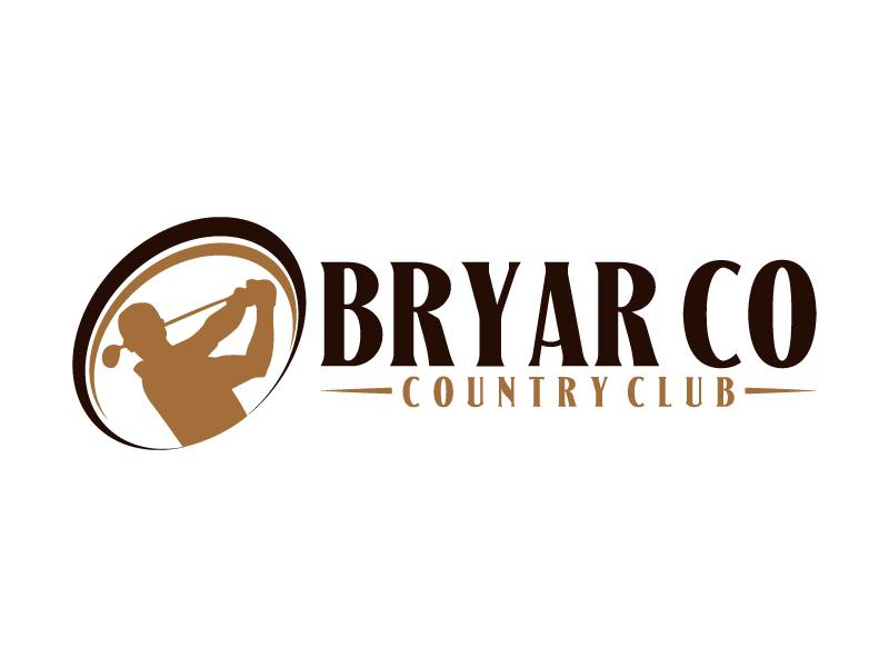 Bryar Co Country Club logo design by karjen