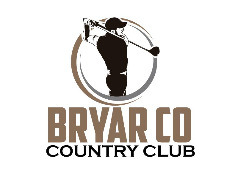Bryar Co Country Club logo design by ElonStark